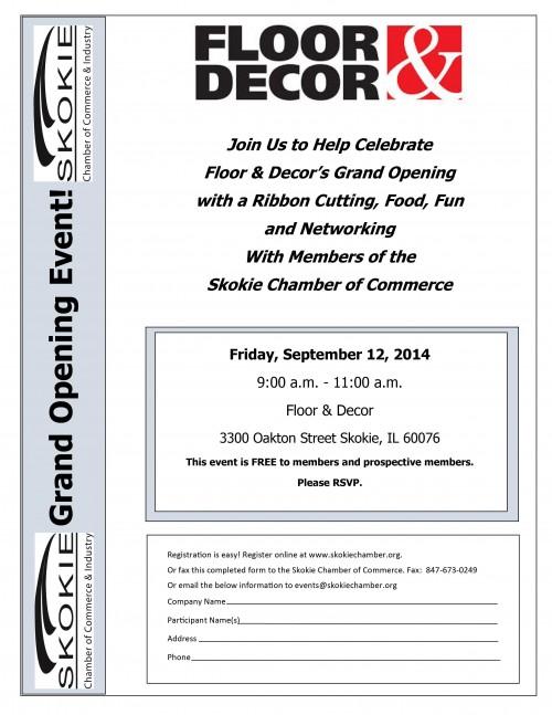 eea2032971c18 Floor   Decor Grand Opening   Ribbon Cutting - Skokie Chamber of ...